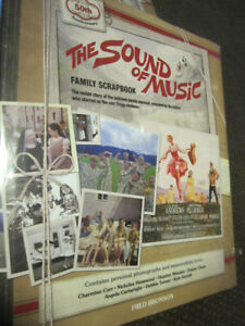 The Sound of Music Family Scrapbook Hardcover - NEW, Cello-Seal