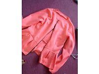 Pink blazer size 10