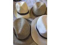 4 men's hats - great for eBay/market stalls etc