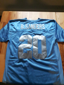 75th Anniversary Barry Sanders Football Jersey