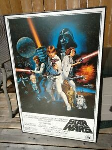 Affiche de Sart Wars et Grease