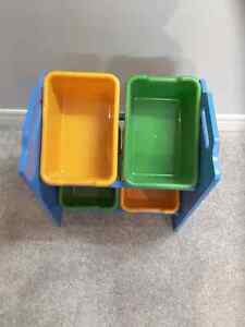CRAYOLA STORAGE BIN RACK Windsor Region Ontario image 1