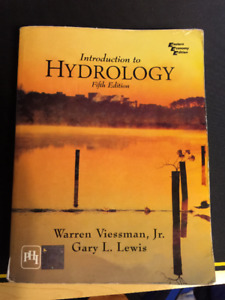 Introduction to Hydrology Fifth Edition