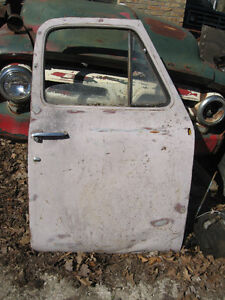 Western pair of doors for 1953-55 Ford pickup, sell or trade London Ontario image 2