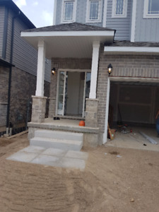 Brand new house in Doon South Valley in Kitchener for rent