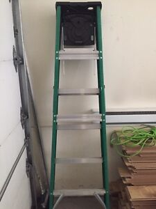 Professional step ladder 6'