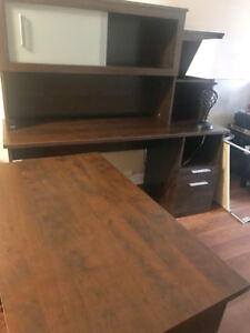 【New Price】Corner Wooden Office Table-65inch x 65 inch