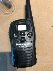 Midland LXT114 22-Channel 18-Mile FRS/GMRS Two-Way Radio