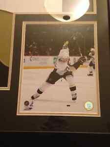 Sidney Crosby Autographed Framed Jersey GA COA St. John's Newfoundland image 2