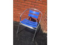 FOR SALE 5 ALUMINIUM CHAIRS