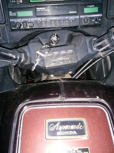 Honda Gold Wing alpanade 1985