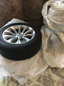 18 inch used Winter Tires and Rims for BMW X5 or X6