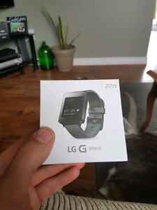 LG g watch smart watch