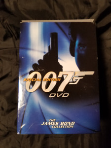 The James Bond Collection Volume One used DVD Set