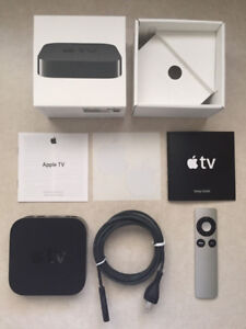 Apple TV 3rd Generation with 2 remotes