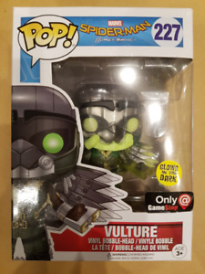 Funko POP! Marvel - Vulture 227 (Spider-Man: Homecoming) -GLOWS!