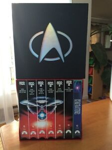 Star Trek movie box set widescreen VHS