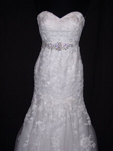 Wedding Dress - Maggie Sottero 'Ascher', white. Size 2