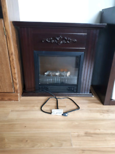 Fake fireplace/heater