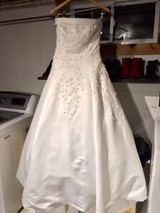 Alfred Angelo strapless ball gown
