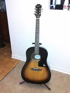 Epiphone Acoustic and Guitar Stand