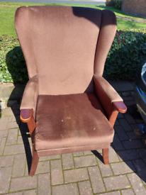 Vintage armchair-project
