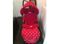 Cath kidston pushchair beautiful bargain.