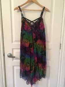 Free People Floral Dress Size XS