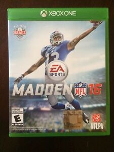 MADDEN 16 XBOX ONE