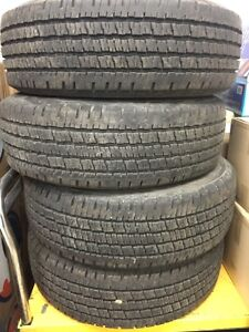 FORD E 250 350 Summer truck tires 245 75 16 Hankook