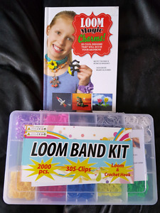 Loom Band - kit w/ extra bands and book