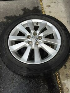 Toyota Alloy Rims with Eagle GT tires