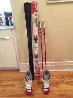 Skis et Bottes Rossignol Fille