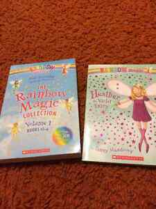 The rainbow magic collection book + additional fairy book