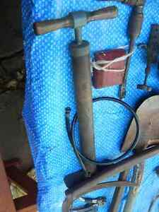Vintage Bicycle Hand Pump, Plus More *ANTIQE TOOLS*