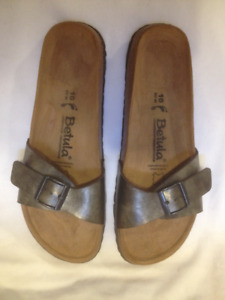 New Birkenstock Papillio Single Strap Leather Sandal Ladies 40/9