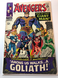1st Collector in Avengers 28 comic approx 6.0 $130, OBO