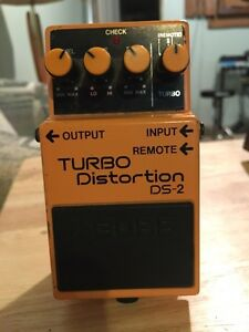 Boss Turbo Distortion Guitar Pedal
