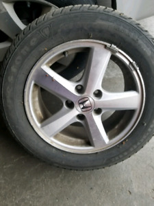 Honda accord All season tires time included