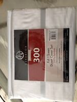 BRAND NEW Bamboo Queen Duvet Cover and Shams