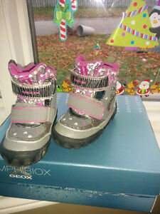 Toddler geox light up boots size 6.5