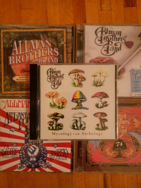 The Allman Brothers Band - Mycology: An Anthology - cd 98