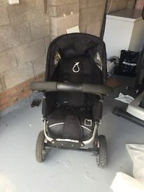 I candy pear double buggy and accessories