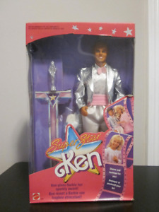 1988 Super Star Ken Barbie doll