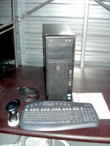 Ordinateur Gaming PC HP Z210 WorkStation Win-10 Pro & Access.