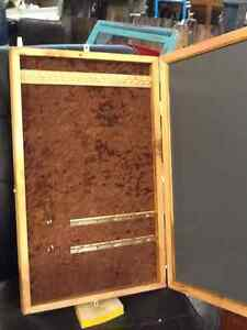 Hand Crafted hanging jewelry box Strathcona County Edmonton Area image 4