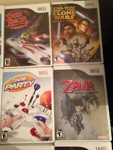 Set of 4 Wii games