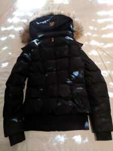 Mackage winter jacket and UGG boots
