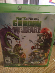Plants vs zombies warfare xbox one