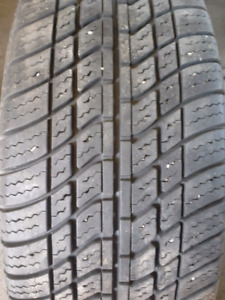 P215/60R15 MOTOMASTER SE A/S one tire only